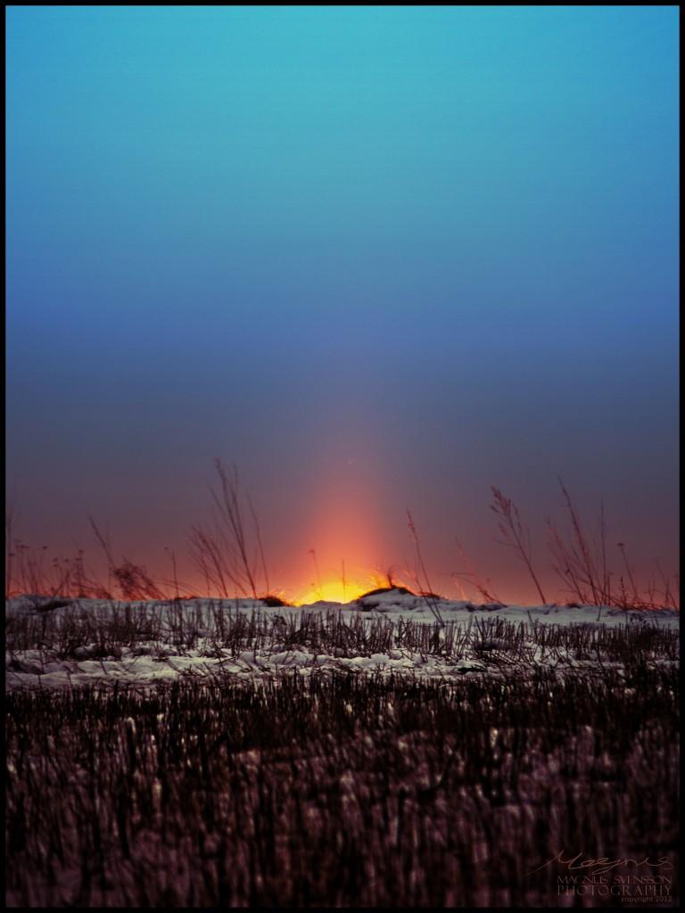 Winter Sun Rising